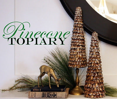 diy pinecone decor
