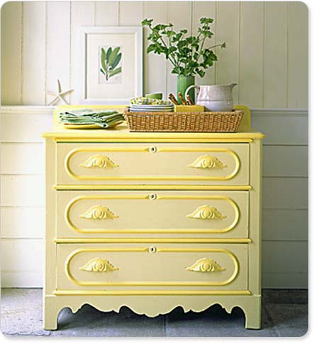 decorating a dresser top