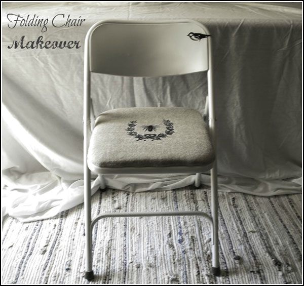 folding chair makeovers