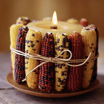 thanksgiving candle craft