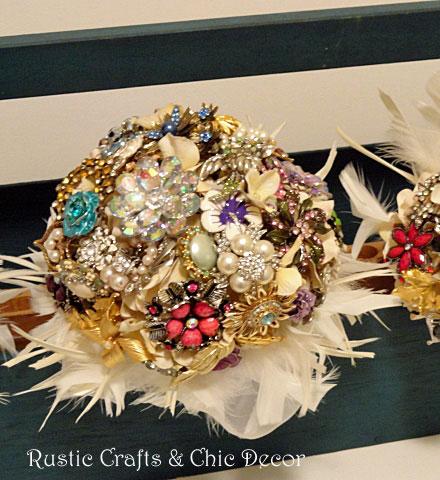 rustic chic wedding decor by rustic-crafts.com