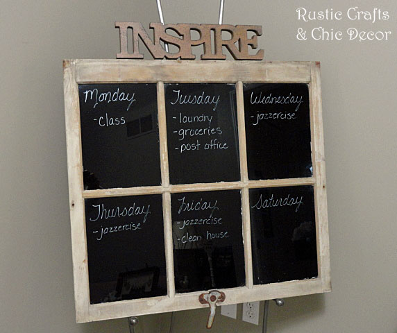 how to decorate with old windows by rustic-crafts.com