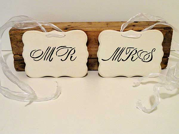 rustic chic wedding decor by rustic-crafts.com