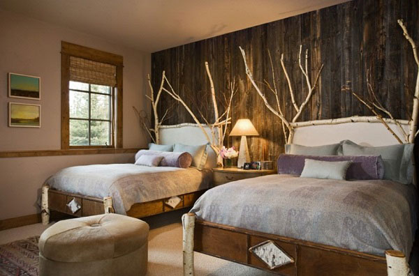 rustic chic bedroom