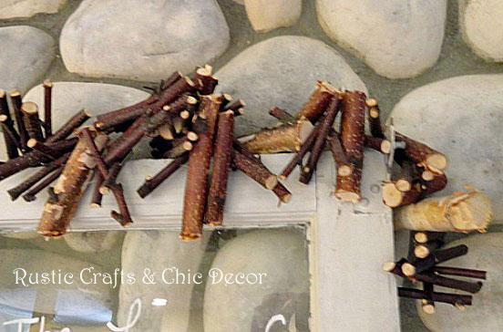 birch branch garland by rustic-crafts.com