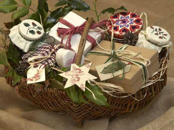 homemade sweets basket