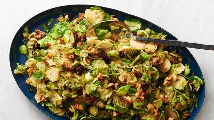 Christmas recipes brussel sprouts