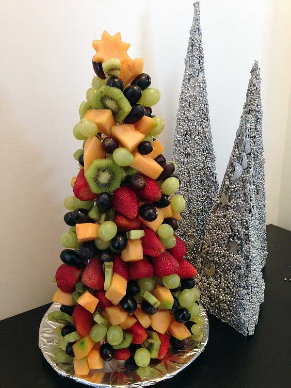 fruit christmas tree recipe