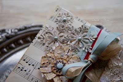 song sheet gift wrap