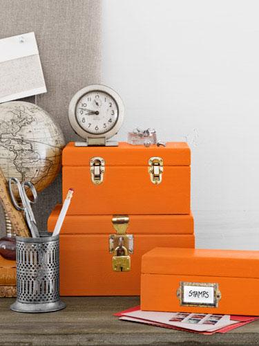 organization craft boxes