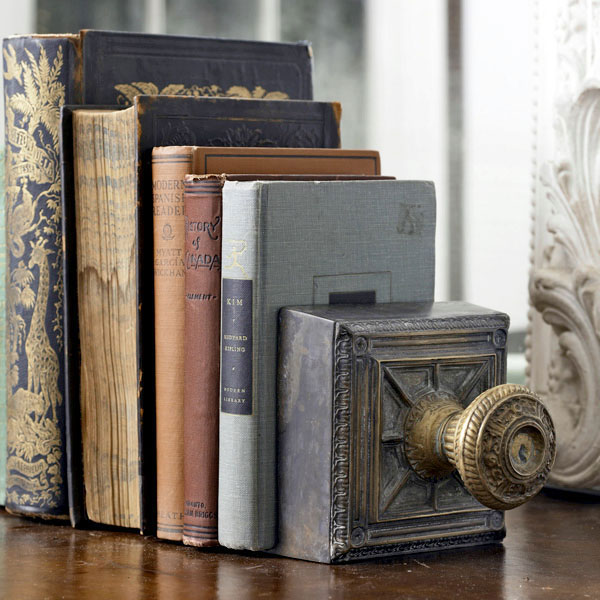 door knob bookend