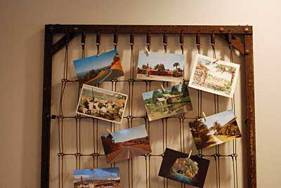 mattress spring photo display