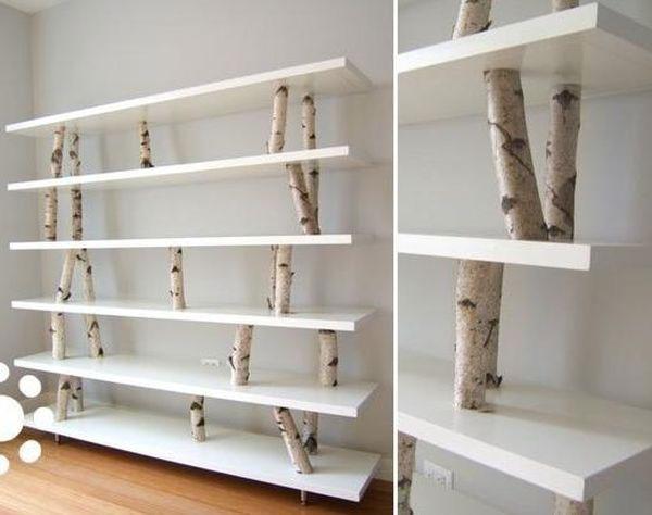 birch branch shelves