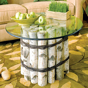 birch table craft