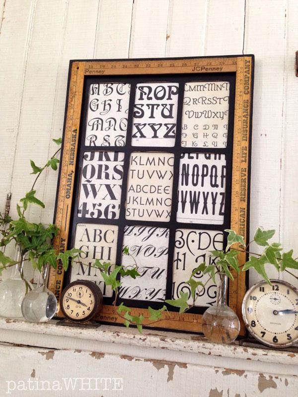 yardstick picture frame