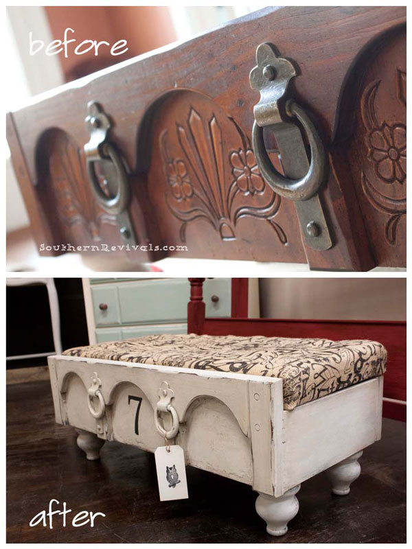 drawer ottoman