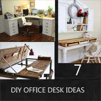 Diy Office Desk Ideas Rustic Crafts Amp Chic Decor