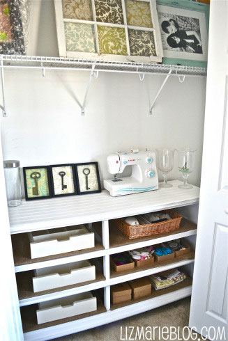 dresser shelving unit