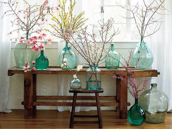 spring decorating idea