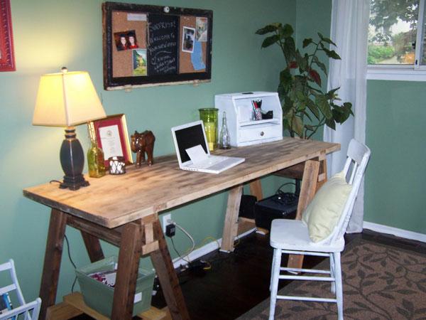 old door desk