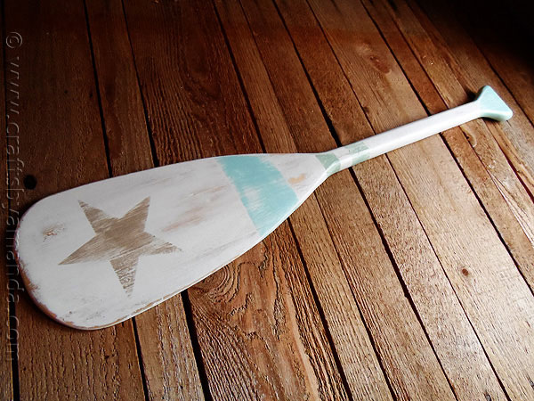Vintage Diy Decorating With Boat Oars Rustic Crafts