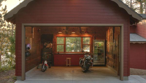 cabin garages