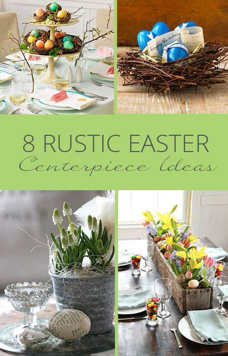 rustic easter centerpiece ideas