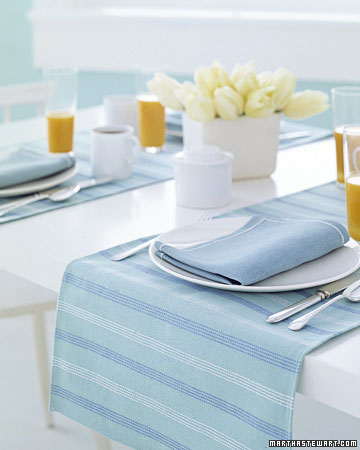 table runner placemats