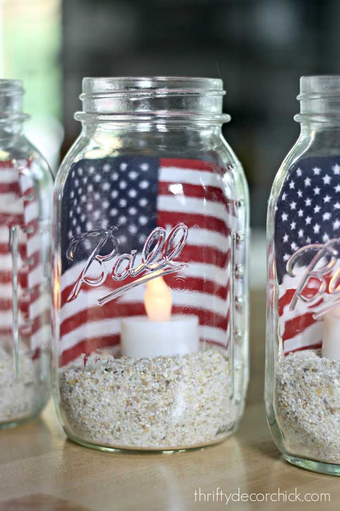 memorial day luminary craft