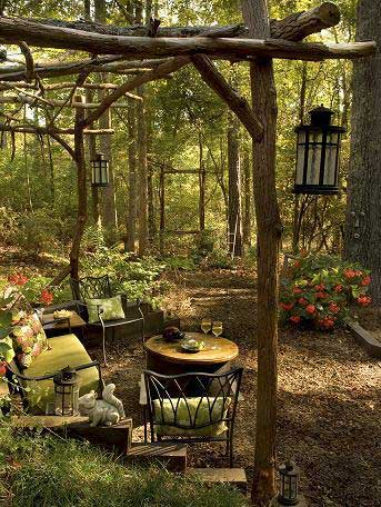 Over 30 Cool Ideas For Rustic Outdoor Decor - Rustic ... on Backyard Garden Decor id=90981