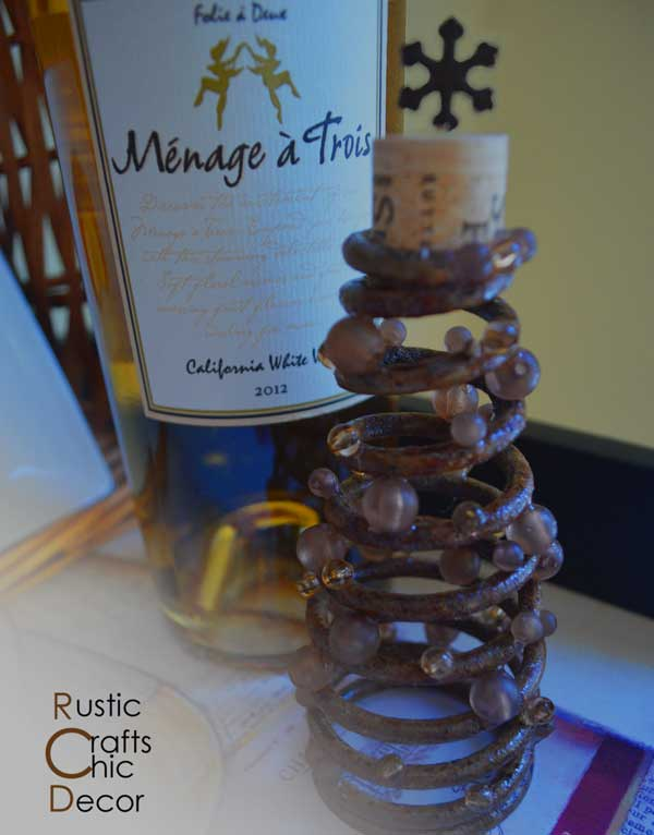 rustic christmas tree craft