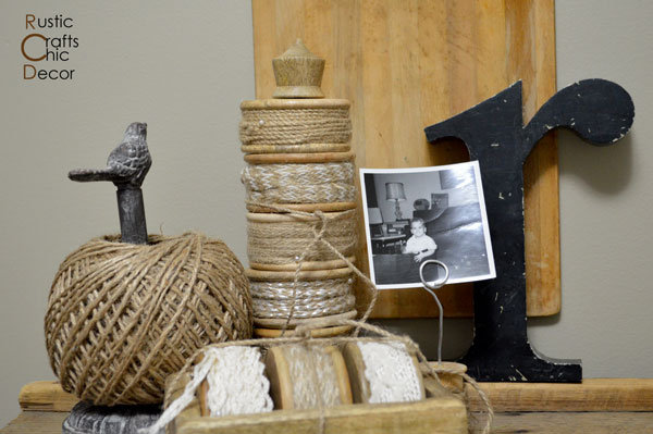 creative photo displays by Rustic Crafts & Chic Decor