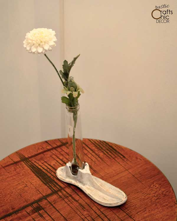 shoe mold bud vase