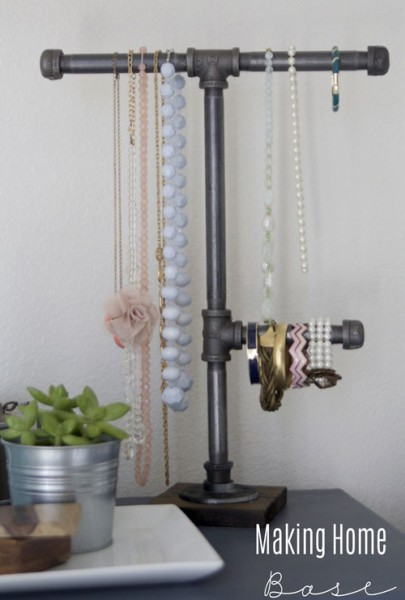 plumbers pipe jewelry display