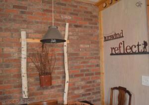 cabin kitchen light