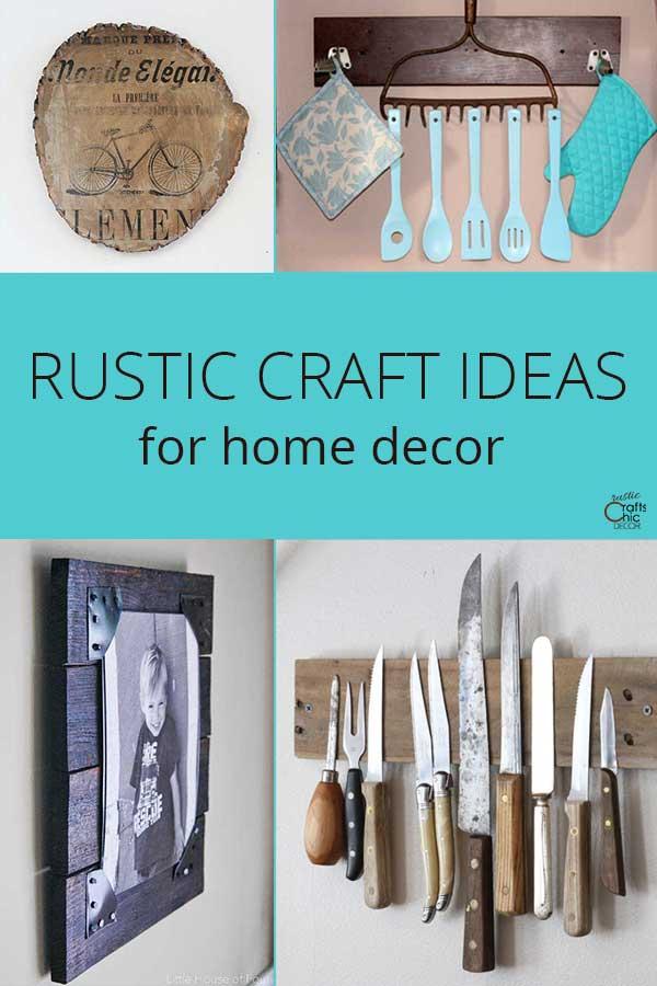 rustic craft ideas