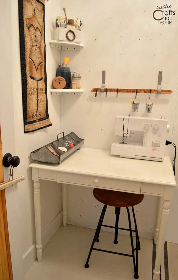 small craft space ideas craft room ideas for a small space rustic crafts amp chic 5440