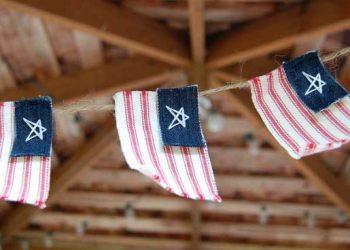 american flag crafts