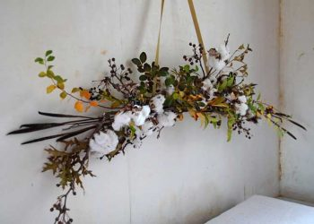 crafts using cotton stems