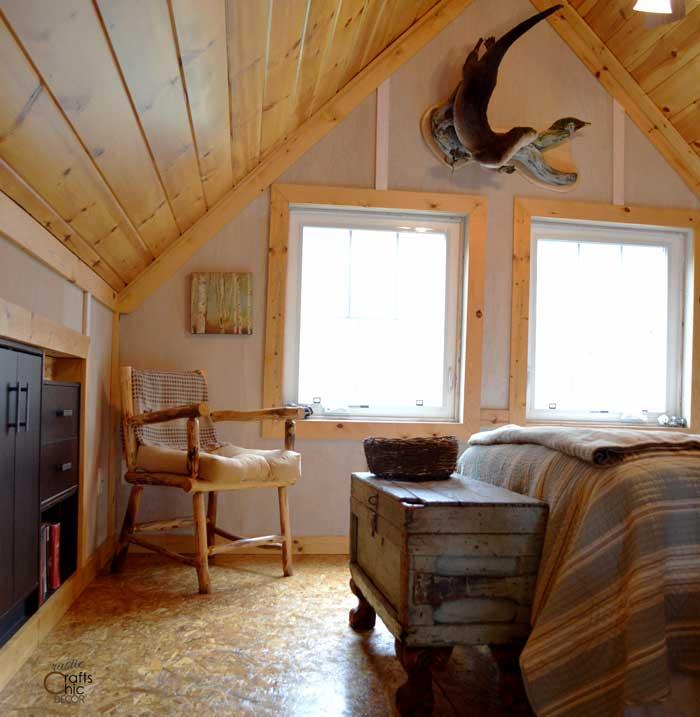 cabin tour