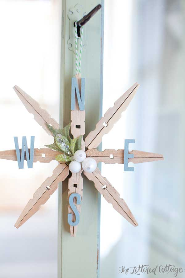 clothespin Christmas crafts