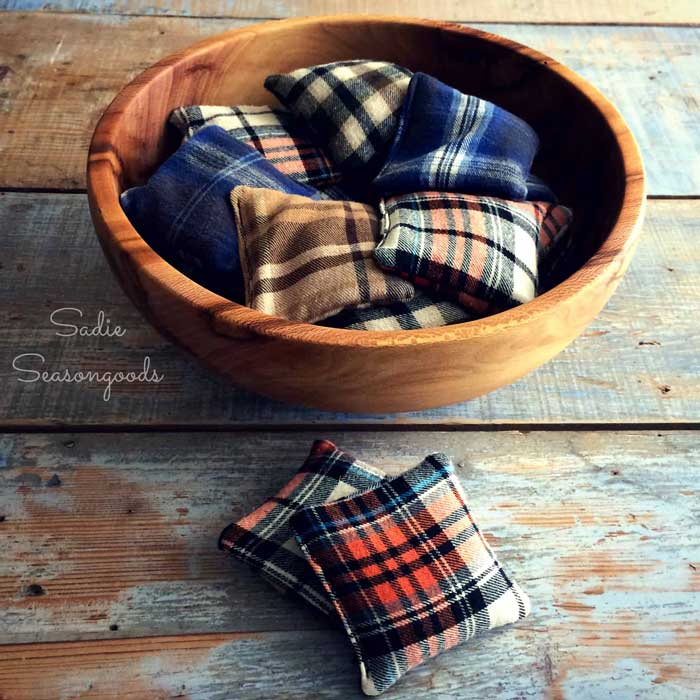 flannel shirt hand warmers