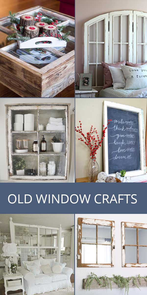 old window crafts