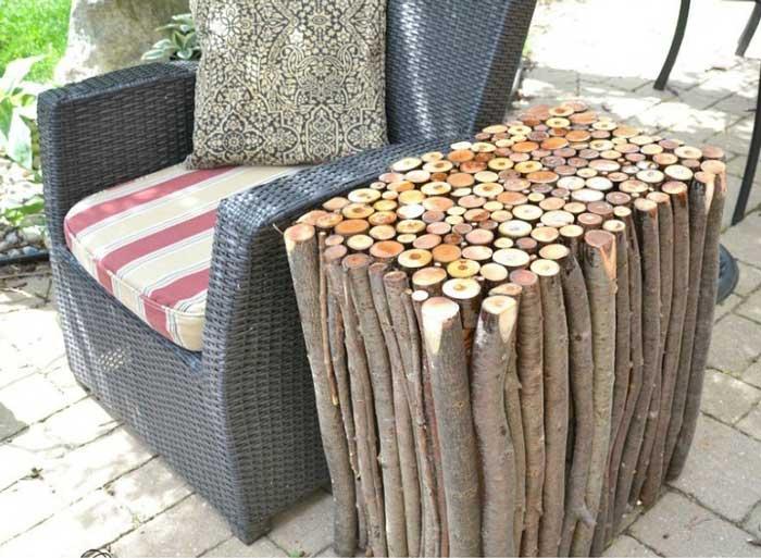 diy branch table