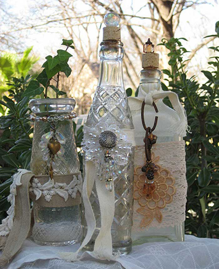 creative things to do with glass bottles