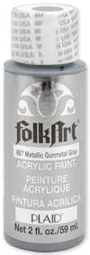 metallic gunmetal gray paint