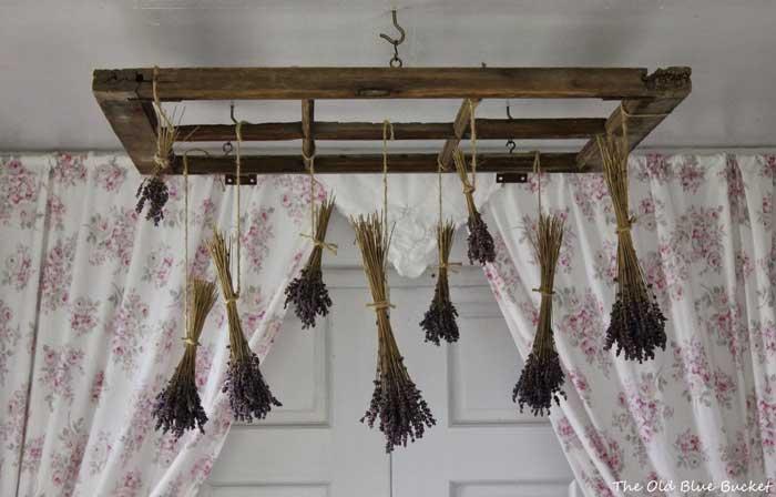 old window drying rack