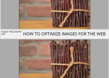 optimize images for web