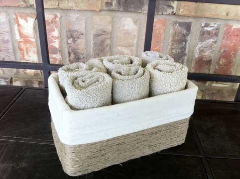 tissue box crafts - basket