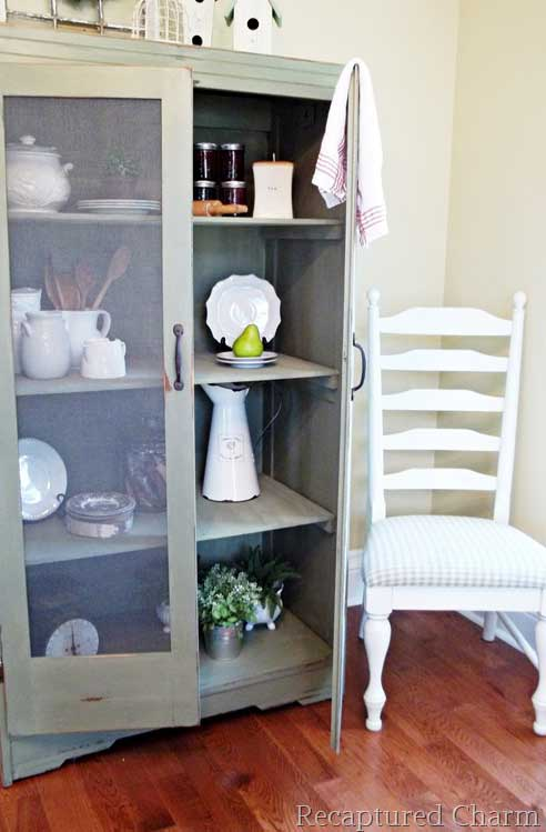 decorating on a budget with old furniture repurposes